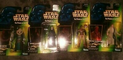 Star Wars POTF Collection 1 Kenner Action Figure lot plus FREE  Lithograph