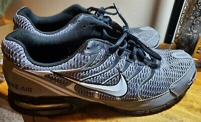 Used NIKE AIR MAX TORCH 4 - Grey Black Silver Mens Shoes 14