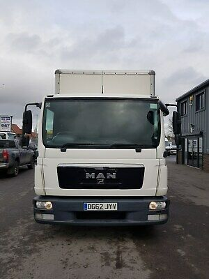 MAN 7.5 TGL Box Van with Tail-Lift For Sale