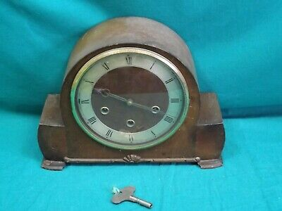 Vintage Smiths Chiming Wind-Up Mantel Clock.  Not Working. (Hospiscare)