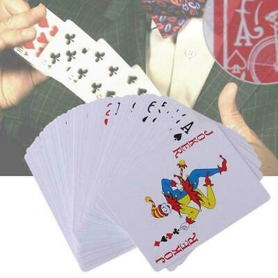 New Secret Marked Poker Cards See Through Playing Cards Magic Toy Tricks Ma W0K7