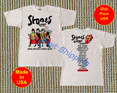 The Rolling Stones USA/CA No Filter Tour 2020 Concert T-Shirt S - 2XL