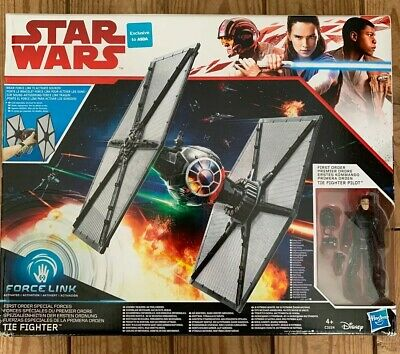 Star Wars The Last Jedi First Order Special Forces Tie Fighter Action Figure