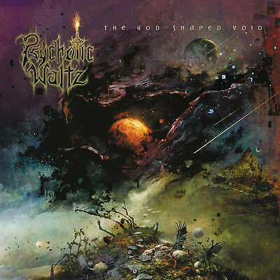 PSYCHOTIC WALTZ - The God-Shaped Void - Vinyl 2-LP + CD - black Vinyl
