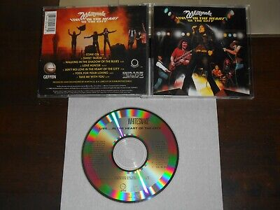 WHITESNAKE Live In The Heart Of The City CD USA 7 tracks Geffen Mirage 9 24168-2