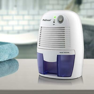 Portable Mini Air Dehumidifier For Damp, Mould, Compact,Bedroom Bathroom, 500ml