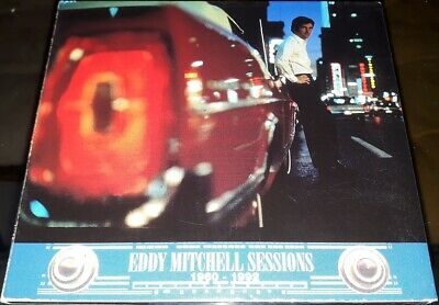 Eddy Mitchell Sessions Rare Cd Promo Inclus Duo Johnny Hallyday