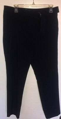 Adrianna Papell Womens Navy Blue Pants Career Casual Dress Pants Size 10