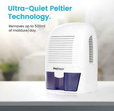 Portable Mini Air Dehumidifier For Damp, Mould, Compact,Bedroom Bathroom, 1500ml