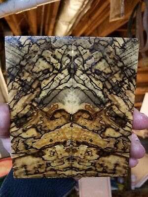Stabilized Spalted Hackberry/ Knife Scales/Pistol grips/Jewelry Making inlay