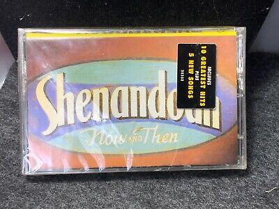 Shenandoah-Now And Then-New Sealed Cassette, 1994-Sony Music