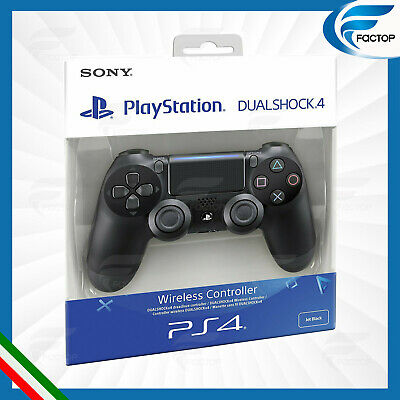 Controller Ps4 Dualshock V2 Nero Per Console PlayStation 4 Sony Dual Shock