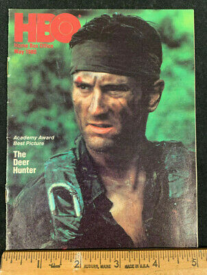 1980 May *The Deer Hunter* Hbo Home Box Office Movie Guide Booklet (As)