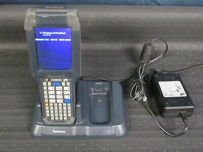 Intermec CK3X Mobile Computer Scanner Windows Mobile 6 w/ AD20 Charger Dock