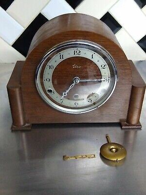 VINTAGE 1930s RARE ELCO CLOCK WITH PERIVALE MOVEMENT WESTMINSTER CHIME