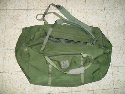 THE REAL Zahal Idf Carry All Field Combat Sayeret Duffle Bag Canvas Israeli Army