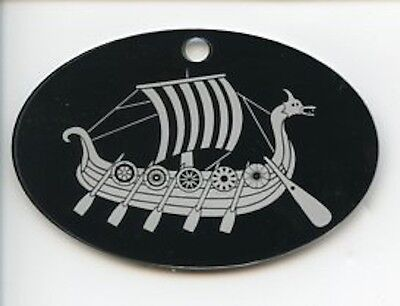 Scandinavian Swedish Danish Norwegian Viking Ship Norse Christmas Ornament EL30