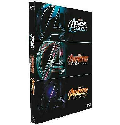 Marvel's Avengers 1- 3 Trilogy (DVD Box Set 2018) 3 Movie Collection, Brand New