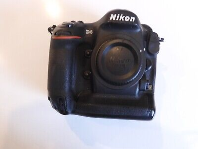 Nikon D D4 16.2MP Digital SLR Camera - Black (Body Only)--excellent condition