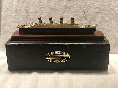 Titanic..harland & Wolff..maritime Heritage Collection The Ship It's Self
