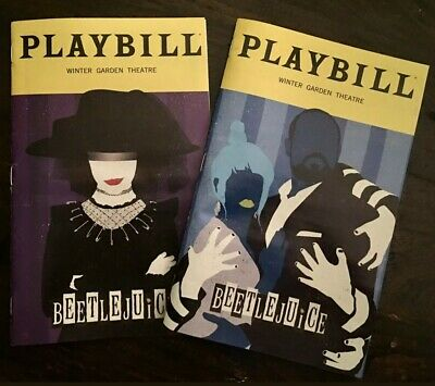 Beetlejuice Broadway Musical SPECIAL January + February Playbills!