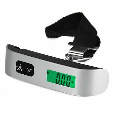 Hanging Luggage Weight Scale Portable Digital Tare Suitcase Travel Accessories