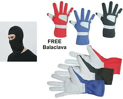 Kart/Racing Gloves Made Of Amara And Polyester For Better Grip Brand New