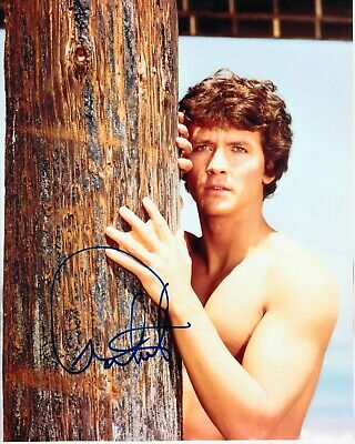 Patrick Duffy Signed Young Photo Uacc Reg 242 (1)