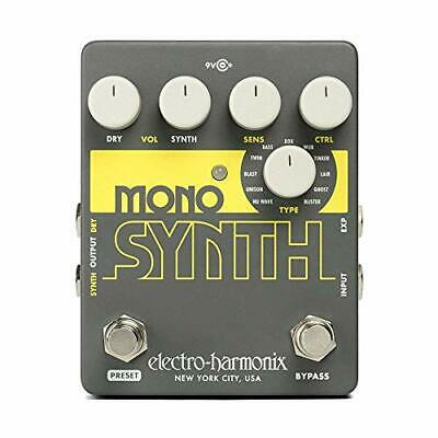 NEW Electro-Harmonix Effects Pedal Mono Synth Guitar Synthesizer from Japan