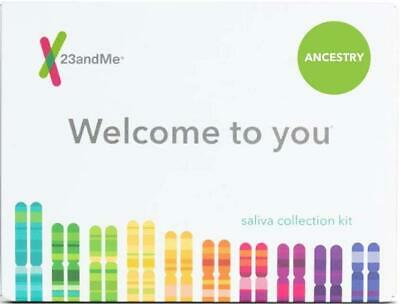 23andMe Ancestry + Traits Service Personal Genetic DNA Test, Collection Kit