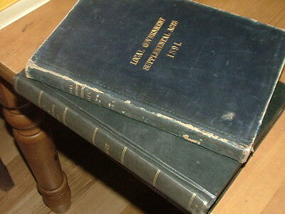 1886-7&1891 Local Government Board Acts & Supplemental Acts interesting history?