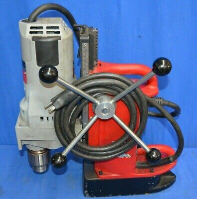 Milwaukee Electromagnetic Drill Press Base W/ Motor Cat No 4202 4262-1