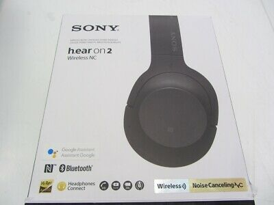 Sony WH-H900N/B Hi-Res Noise Cancelling Wireless Headphone - Black
