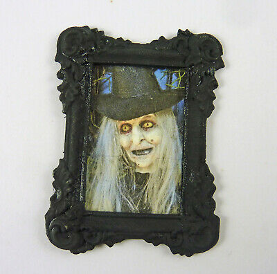 Dollhouse Miniature Artisan Halloween Witch Family Photographs Pictures #9