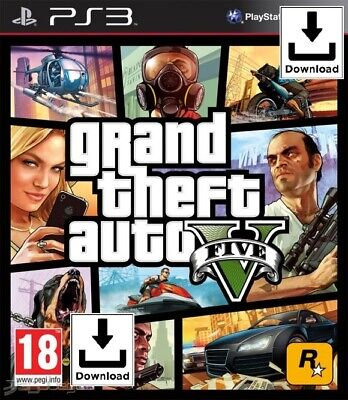 Grand Theft Auto V - GTA 5 - PS3 📥