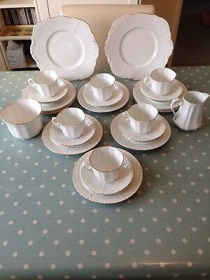 Art Deco Phoenix China. 1930s. Cups, Saucers & Plates. Superb Wedding China.