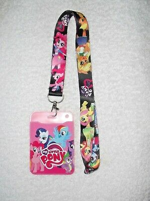 NEW Unwanted ID CARD BADGE PASS HOLDER + Lanyard MY LITTLE PONY Christmas Gift