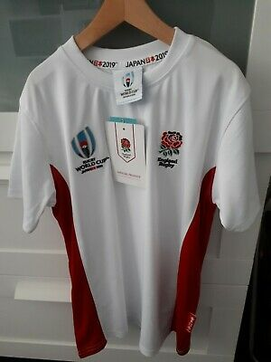 Boys Official England Rugby World Cup 2019 T.Shirt ~ Age 7-8  years BNWT