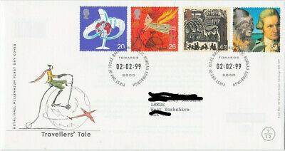 1999 Travellers' Tale Commemorative First Day Cover Fdc