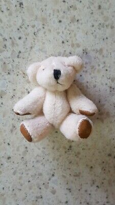 Doll House Teddy Bear-Collectible - Jointed 2 Inch