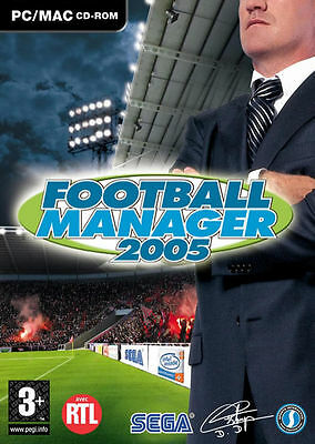 Football Manager 2005 (Mac/PC CD), Video Games