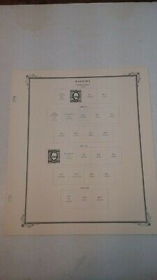 Madeira Scott Specialty Series Stamp Album Pages/Very Good Used!