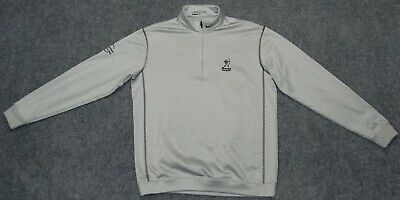 NIKE GOLF THERMA-FIT 1/2 ZIP PULLOVER + SHERWOOD COUNTRY CLUB Gray sz M Pullover