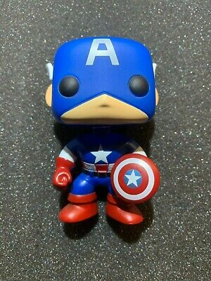 Funko Pop! Marvel: Classic Captain America #06 Vinyl Figure out of box