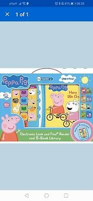 Peppa Pig Me Reader 8 Books Electronic Perfect Birthday Gift For Kids
