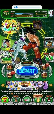 compte dokkan battle global chanceux