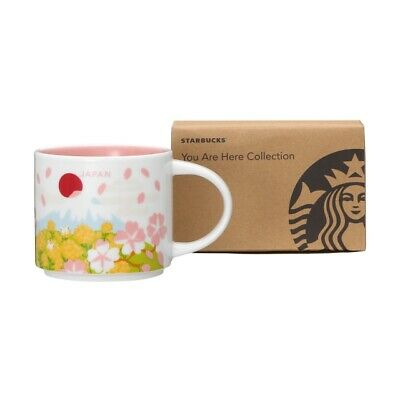 Starbucks Japan You Are Here Collection Mug Cup Spring 414ml Sakura Limited
