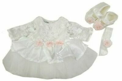 Stunning Spanish Romany baby girls dress shoes  headband outfit 9-12 months BNWT