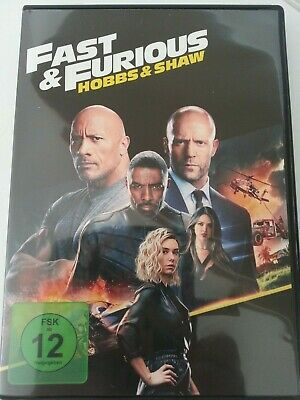 Fast And Furious Hobbs And Shaw DVD