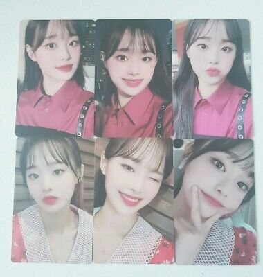 "MONTHLY GIRL LOONA Chuu 6 Photocard SET - Official MD Showcase of LOONA ""#"""